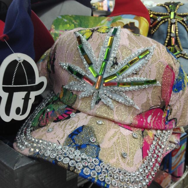 Spotted in Port of Spain ganja blingedout streetfashion snapbackhat