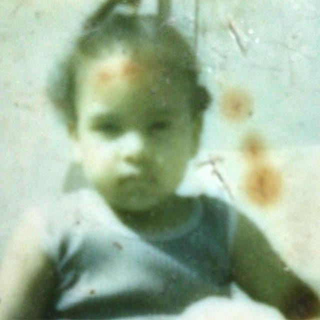 tbt Baby Lisa polaroid babypictures trinidad caribbeanwriter